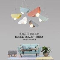 nordic hanging ceiling lamps industrial lamp iron bedroom Home Decoration E27 Light Fixture luminaire suspendu luminaire