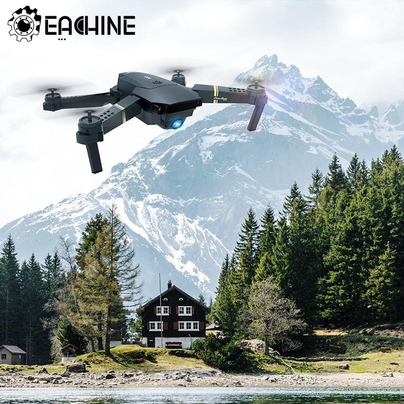 Eachine E58 WIFI FPV с широкоугольным HD 1080P/720P/480P камера с режимом удержания высоты складной рычаг RC Quadcopter Drone X Pro RTF Dron
