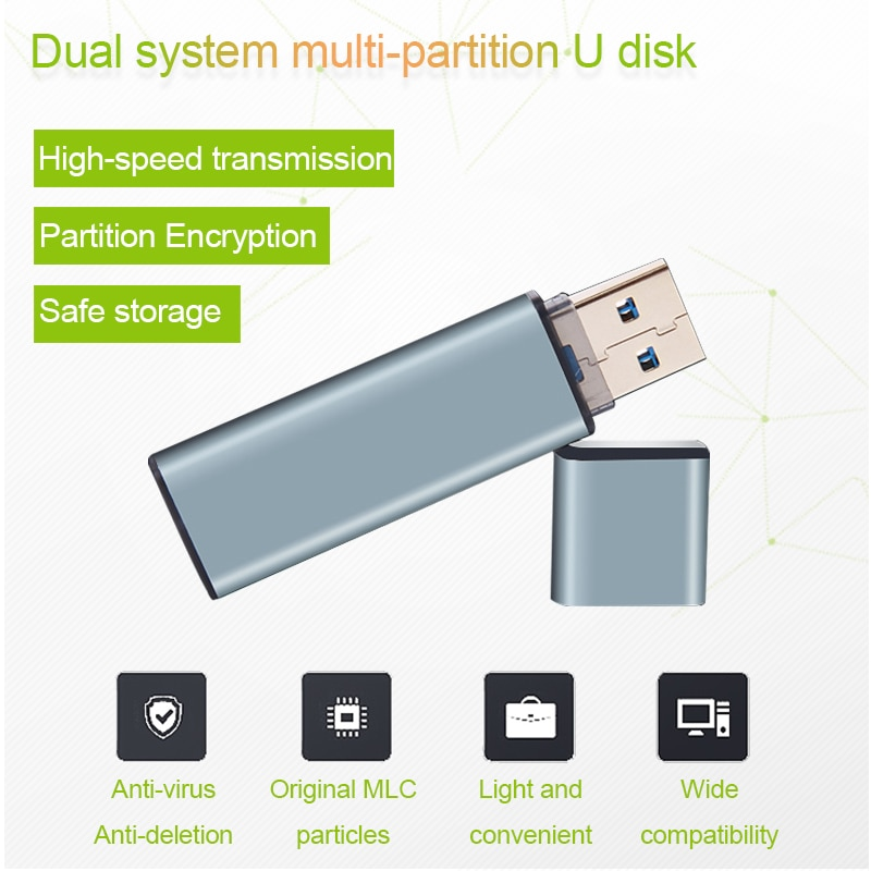 Pen drive usb usb3.0, pen drive ssd state mlc 64gb-512 gb usb, sistema pen drive ganha para ir ssd