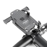 stable aluminum alloy motorcycle motorbike handlebar phone holder rearview mirror bike bicycle phone holder soporte celular moto