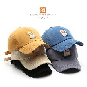Chun Xia Han Edition Ins Cotton Cap; Male And Female Fashion Sports Leisure Street Sunscreen Baseball Hat