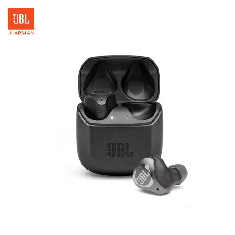 JBL نادي برو + TWS صحيح سماعة لاسلكية تعمل بالبلوتوث سماعة الموسيقى HiFi سماعة الثقيلة باس إلغاء الضوضاء لعبة الهاتف سماعة