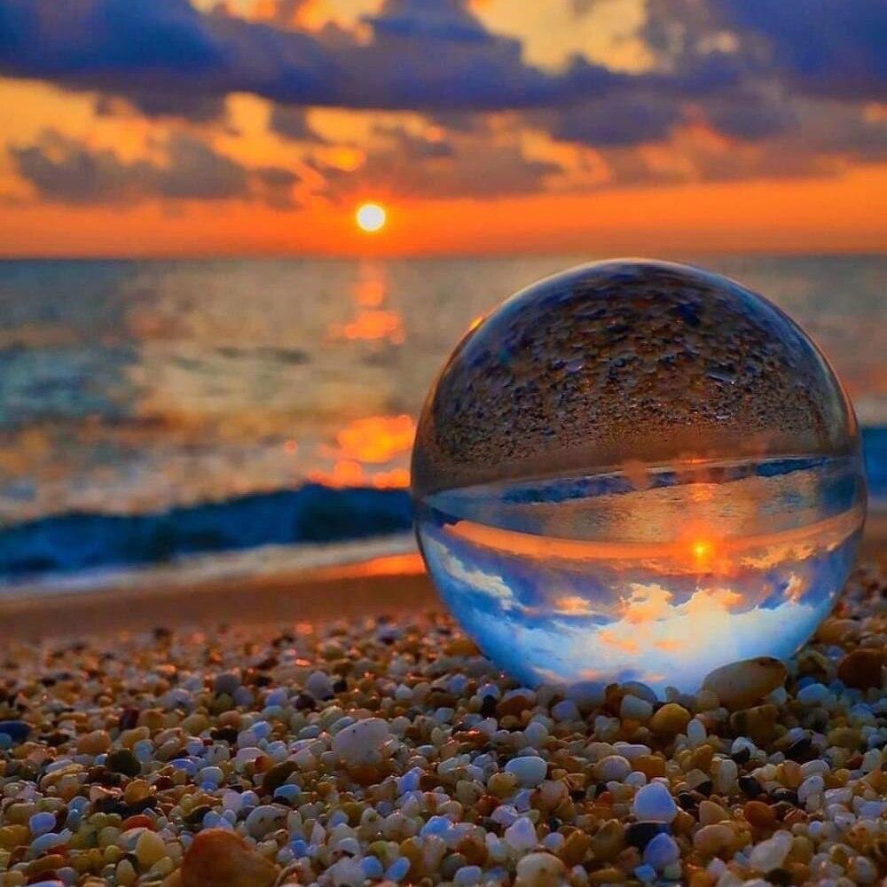 Хрустальный шар большой прозрачный хрустальный шар Lucky Радуга фото хрустальный шар K9 синий хрустальный шар шарик для фотографии