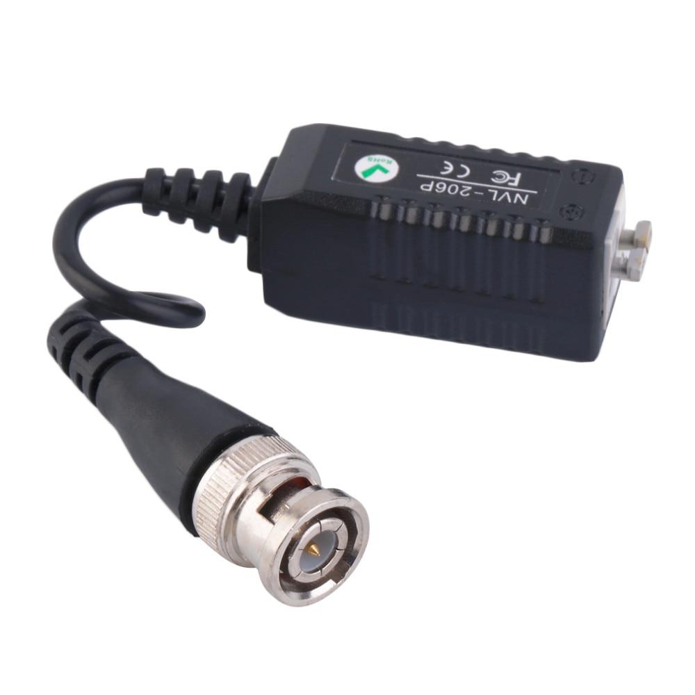 5Pairs CCTV Video Balun HD 720P/1080P AHD HDCVI HDTVI BNC Connector To UTP Balun Passive Transceivers Adapter Transmitter enlarge