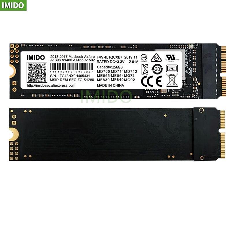 جديد 512GB SSD ل 2014 2015 2017 ماك بوك اير A1465 A1466 ماك بوك برو الشبكية A1502 A1398 1 تيرا بايت iMac A1419 A1418 محرك الحالة الصلبة