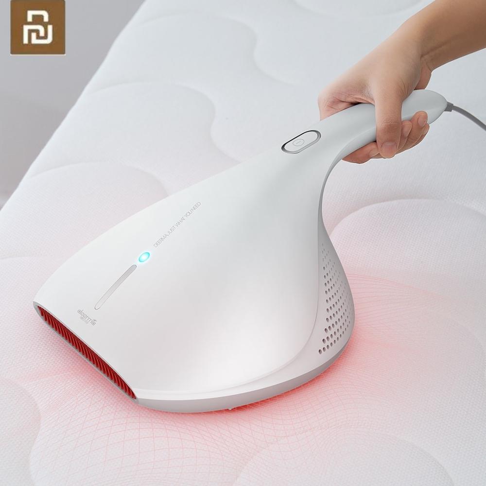 YouPin Deerma 13000Pa aspiradora de mano Anti-polvo de la aspiradora HEPA UV ácaros matar para colchón de la cama de almohada sofá