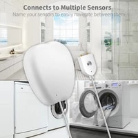 5 3 2pc WiFi Smart Water Leakage Detector Sensor Tuya Smart Life APP DIY Remote Alarm Push Intelligence Home Flood Control 65mA