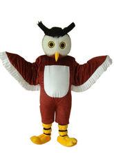 Búho pájaro, mascota traje trajes Cosplay fiesta vestido trajes ropa promoción carnaval Halloween de los adultos