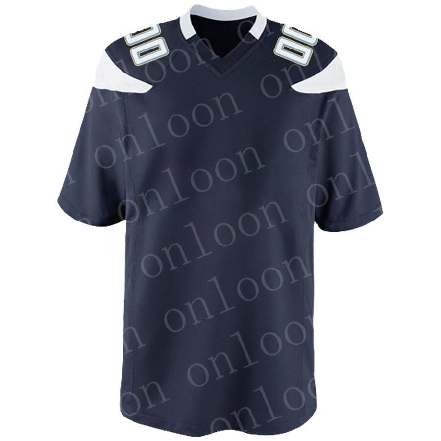 Juego de fútbol americano Los Angeles, ropa para fanáticos del deporte, camiseta Derwin James Jr Justin Joey Bosa Philip Rivers Ekeler Allen