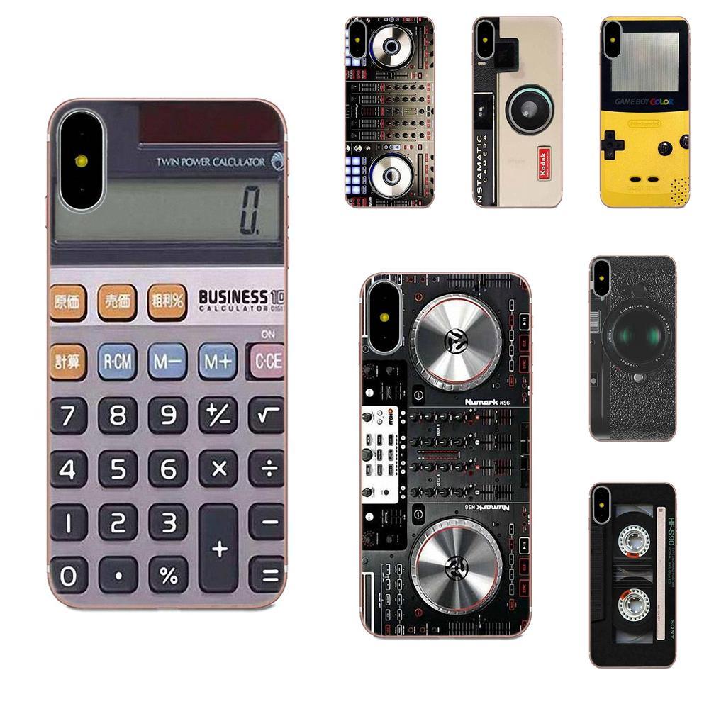 Calculadora de batería de cámara clásica que recuerda para Samsung Galaxy Note 5 8 9 S3 S4 S5 S6 S7 S8 S9 S10 5G mini Edge Plus Lite