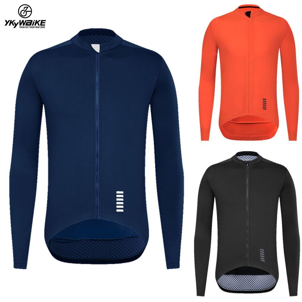 YKYWBIKE-Camiseta de Ciclismo para Hombre, Ropa de manga larga para primavera y...