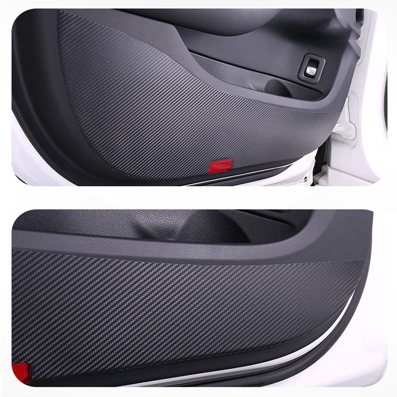 For Toyota Corolla 2019 2020 Accessories Car Sticker Interior Door Anti-dirty Mat Anti-Kick Mat Door Protector Sticker 4 Pcs