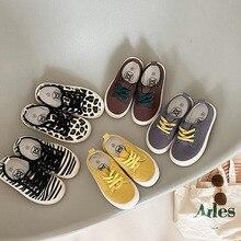 MILANCEL 2021 Autumn New Kids Shoes Boys' Canvas Toddler Casual Shoes