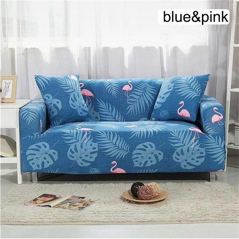 غطاء شامل قابل للتمدد للأريكة والكرسي بذراعين 1/2/3/4 مكان ، لغرفة المعيشة ، من ألياف لدنة ، غير قابل للانزلاق