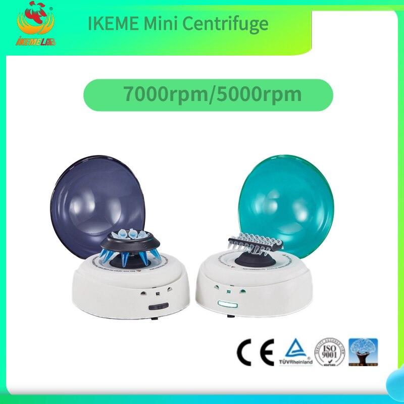 Mini Handheld Centrifuge 5000rpm/7000rpm Separator PCR Tube Laboratory Low Speed Centrifuge