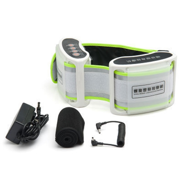 Spiral x 5 times the power plate More kinetic energy toning belt massage apparatus Electric massage slimming belt