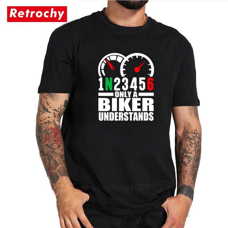 1N23456 sólo un motociclista entiende la camiseta de moda 1N23456 motocicleta hombres...
