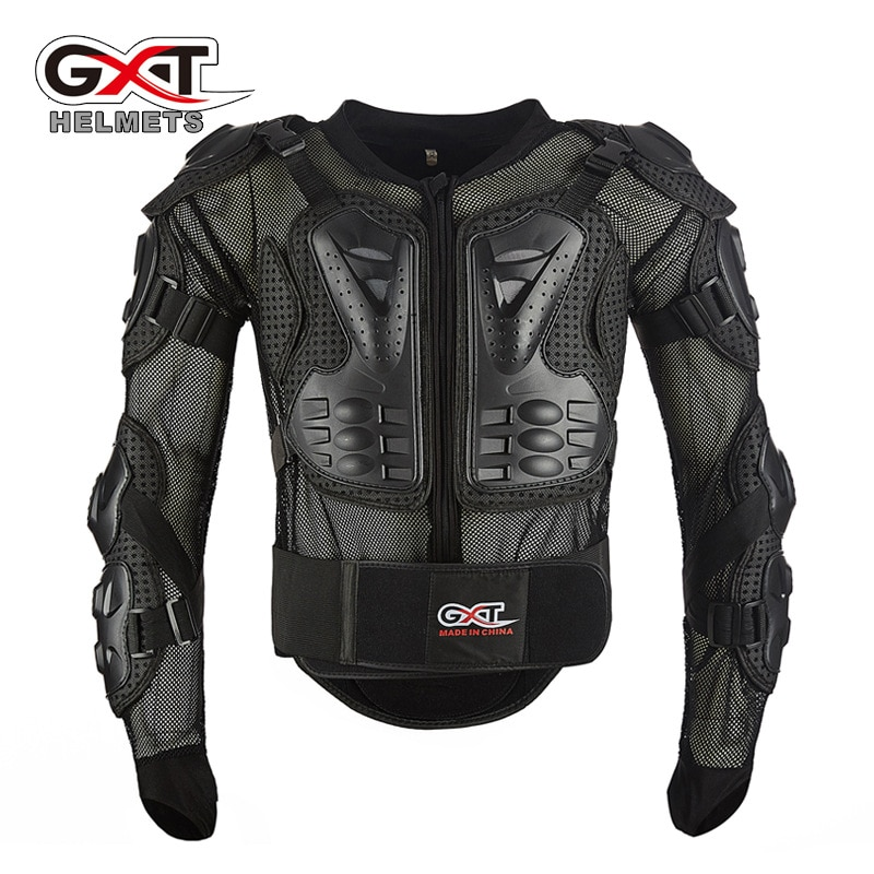 GXT Motocross Anti-caída armadura delgada 3D tridimensional transpirable malla motocross protección bajo Armadura