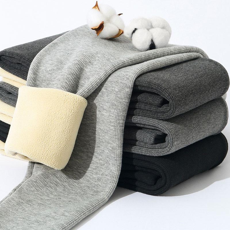 Леггинсы женские однотонные с резьбой, утепленные бархатные штаны с завышенной талией, облегающие укороченные брюки, на осень-зиму
