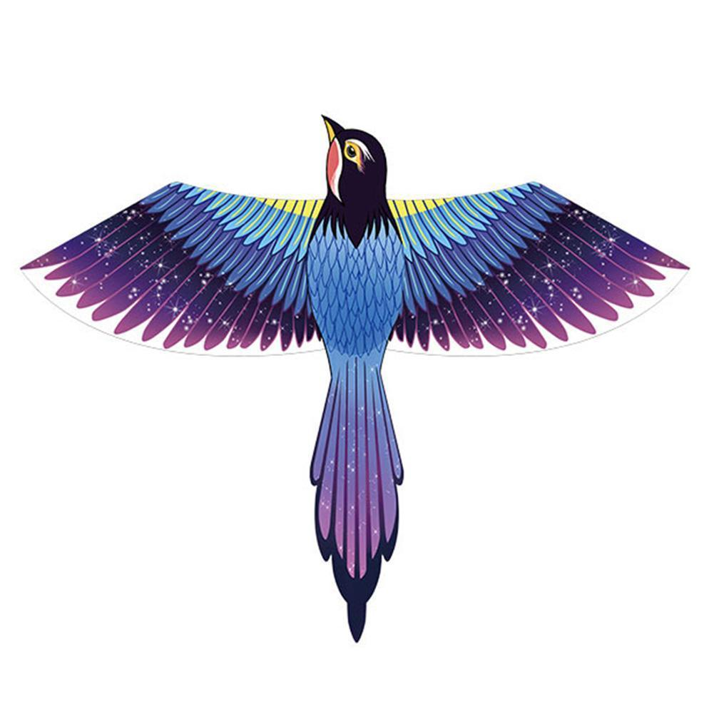 Фото - Воздушный змей Magpie для взрослых и детей, легко летать, большой длинный хвост, мультяшный кайт, летающие змей, игрушка для улицы воздушный змей x match кайт 681338