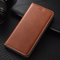 first layer genuine leather wallet case for samsung galaxy a12 a22 a32 a42 a52 m62 f62 a72 a82 a02s magnetic flip cover cases