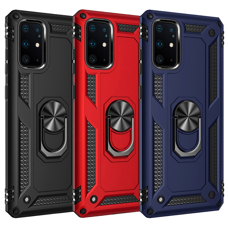 Armor Magnetic Case For Samsung Galaxy A51 A21s A20s A50 A70 A71 S20 S10 S9 S8 Note 9 8 10 Plus A32 A42 A52 A31 A20E Ring Cover