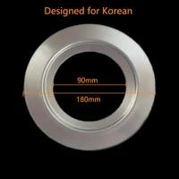 180mm adapter kitchen food waste processor sink adapter large diameter food garbage disposal accessories
