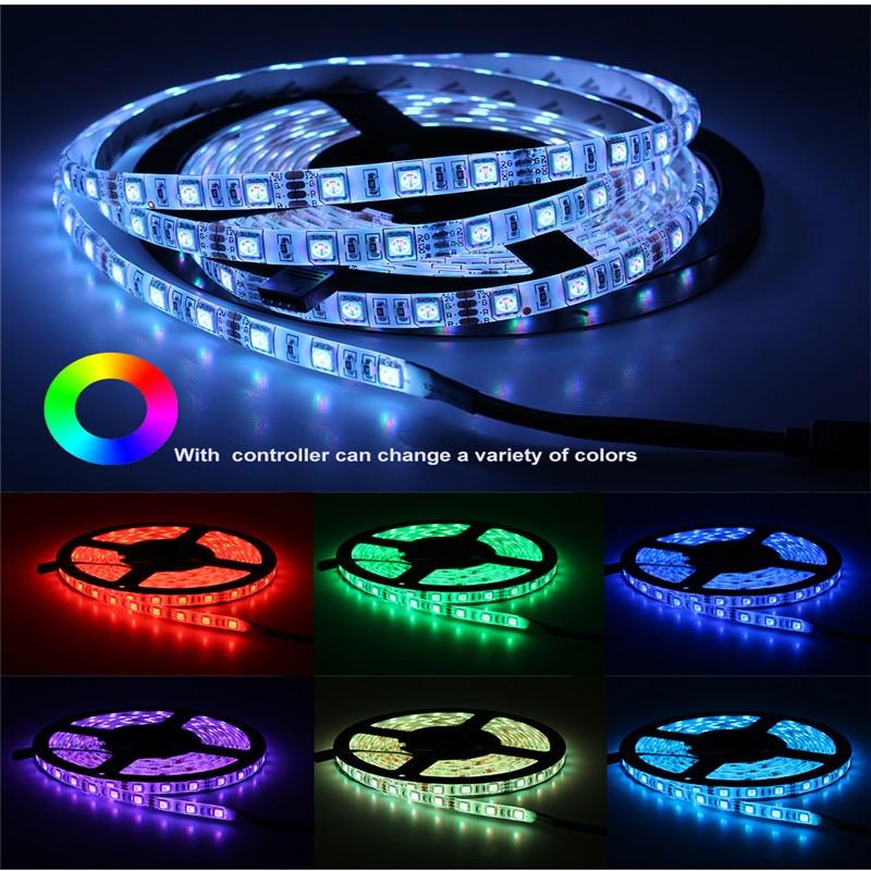 Tira de luces LED Flexible 60 ledes/m Lámpara de botella de vino...
