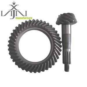 Новый лучший производитель корончатых колес и зубчатых колес в комплекте для ISUZU NPR 8x39, коэффициент скорости 18T 20CrMnTiH3, нодулярный чугун 2007-2016