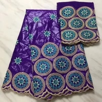 latest hot sale african laces fabrics embroidered high quality french lace fabric nigerian net tulle lace fabric