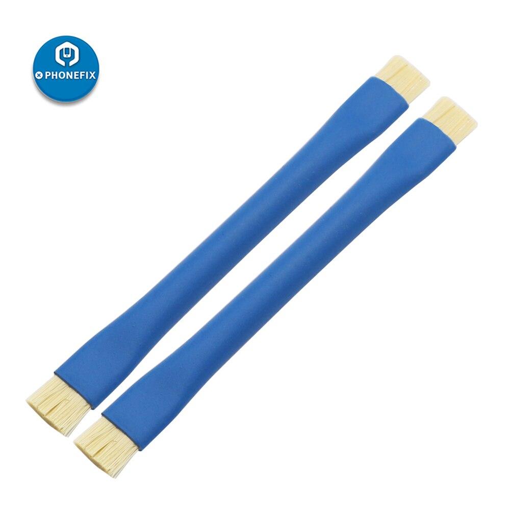 PHONEFIX Anti Static Brush Insulation Brush Clean Dust Tools For Mobile Phone Motherboard PCB BGA Repair Tools