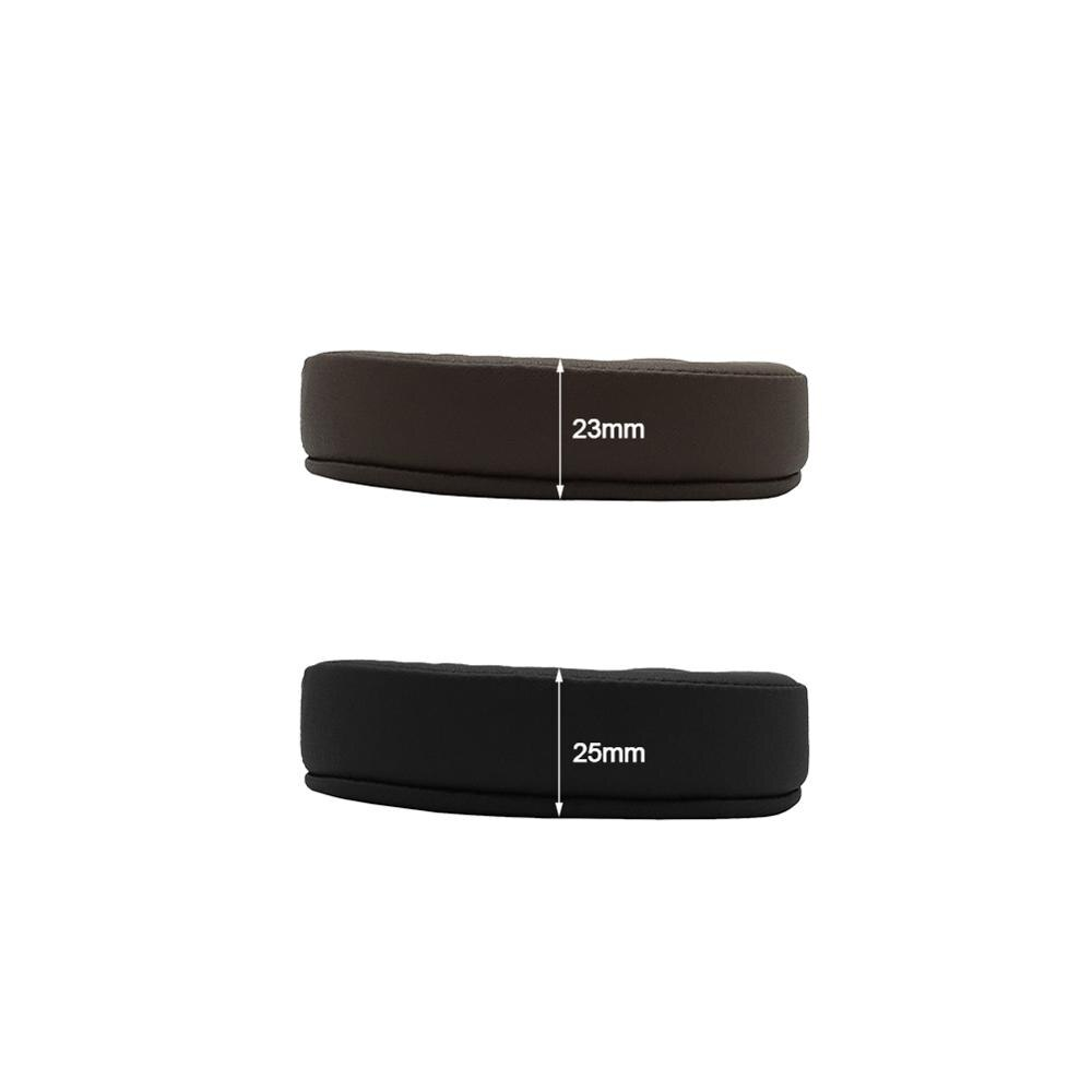 KQTFT Replacement EarPads Headband for Audio-technica ATH MSR7 SE Headset Universal Bumper Earmuff Cover Cushion Cups enlarge