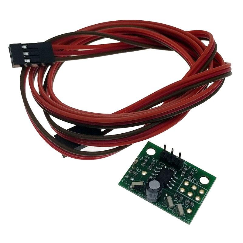 Mini sensor diferencial de altura IR para impresora BLV 3d, compatible con tablero Duet Wifi v1.03, con cables.