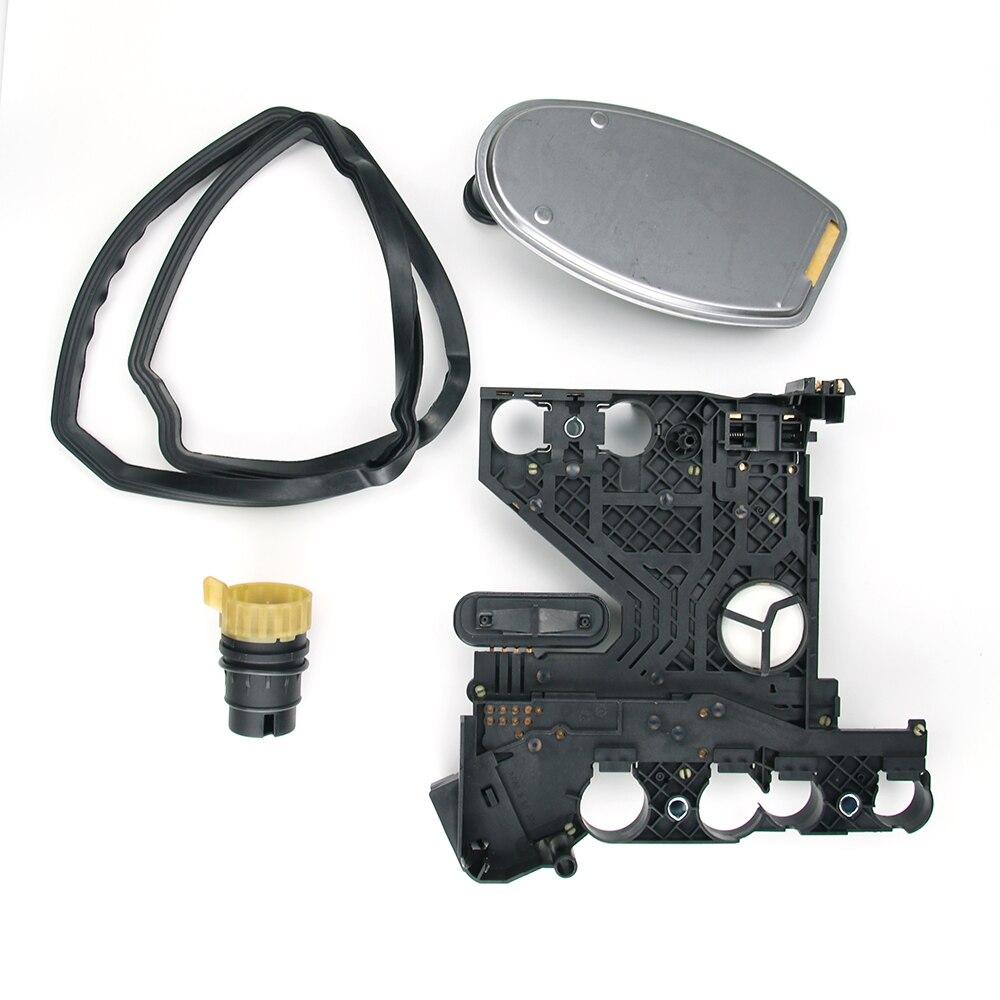 Nova placa do condutor de transmissão + filtro + conector kit junta para mercedes benz dodge freightliner sprinter 1402701161 1402700861