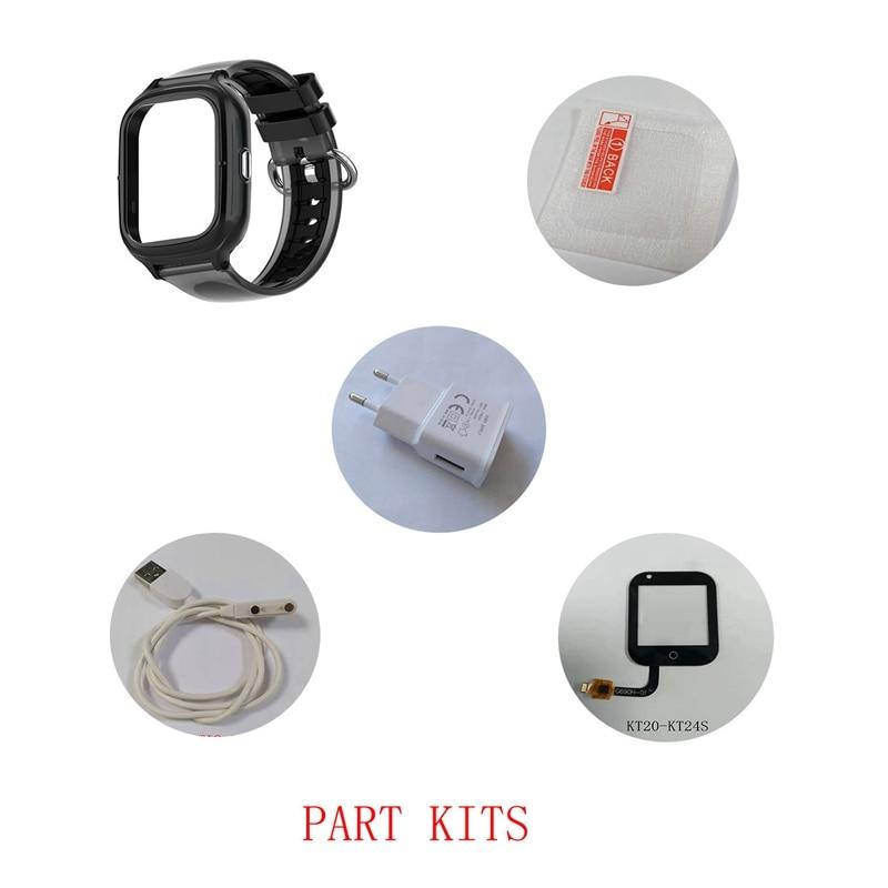 Accessories of Kids GPS Smart Watch Wonlex KT23: Watch Strap/Case/Cable/Button/Buckle/Screw Accessories for Wonlex Watches