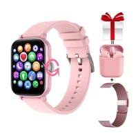 y20 woman smart watch 2021 full touch screen knob rotation fitness tracker gts 2 smartwatch for xiaomi iphone pk p8 plus