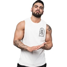 Musclemen رجل عادية فضفاض اللياقة البدنية تانك القمم للذكور الصيف فتح الجانب أكمام النشطة الترفيه قمصان الصدرية الملابس الداخلية