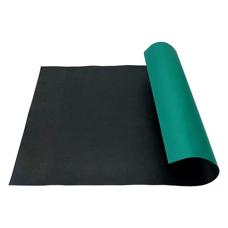 2 قطعة حصيرة الأخضر مكافحة ساكنة ESD الاستاتيكيه بطانية الجدول حصيرة ل بغا إصلاح العمل 600*500*2 مللي متر