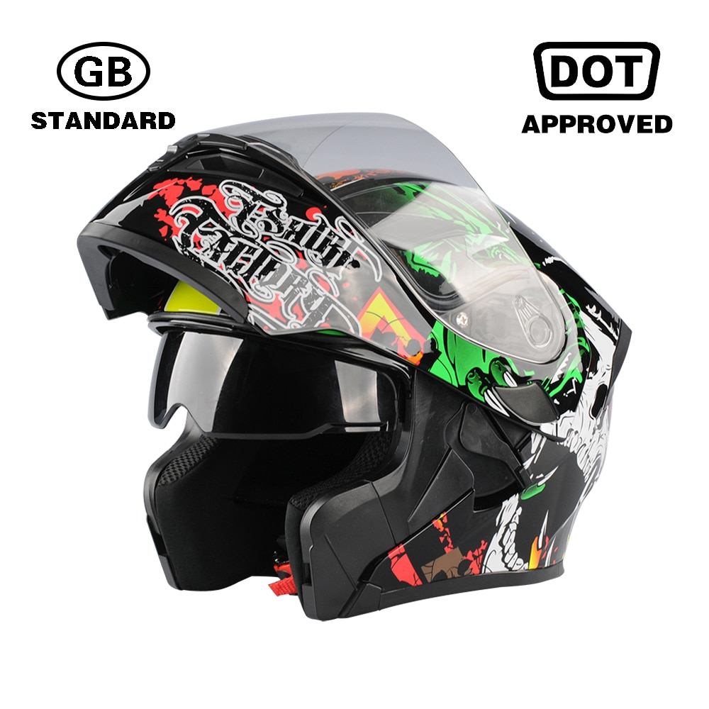 2020 carreras profesionales moto rcycle casco abatible hacia arriba casco doom casco systeemhelm capacete cascos párr moto casco DOT GB