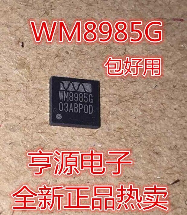 WM8985 WM8985G QFN32