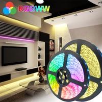 5 м 10 М 5050 Водонепроницаемый Светодиодные ленты светильник DC12V цветная (RGB)/RGBPP/RGBWW гибкий светодиодный светильник лента 15 м 2835 LED RGB Цвет ленты ...