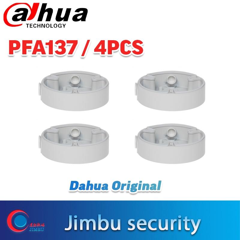 DAHUA кронштейн PFA137 4 шт. поддержка ip-камеры IPC-HDW4433C-A и IPC-HDBW4433R-ZS водонепроницаемый настенный кронштейн круглый внешний вид база