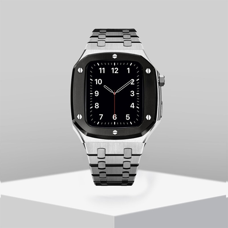 Stainless Steel Band for Apple Watch Band 42mm 44mm Metal Watch Case for 38mm 42mm iWatch Series 6 5 4 Modification Accessories enlarge