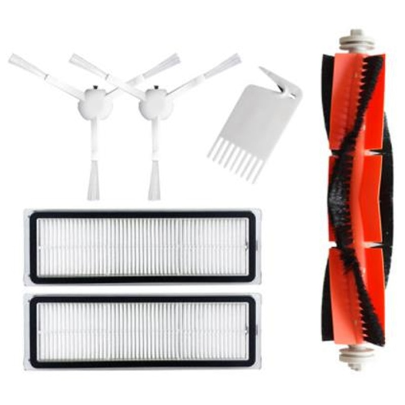 Main Brush Side Brush Filter for Xiaomi Mijia 1C STYTJ01ZHM Robot Vacuum Cleaner Parts Accessories