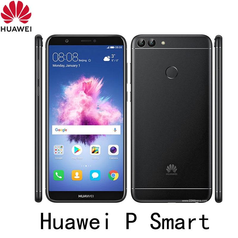 celular Huawei P Smart smarthone 4GB RAM 64GB ROM Android 8.0 Kirin 659 Fingerprint 5.65