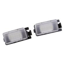 رقم لوحة ترخيص 24-SMD مصباح ليد مصباح أبيض لنيسان فيرسا مكعب GTR
