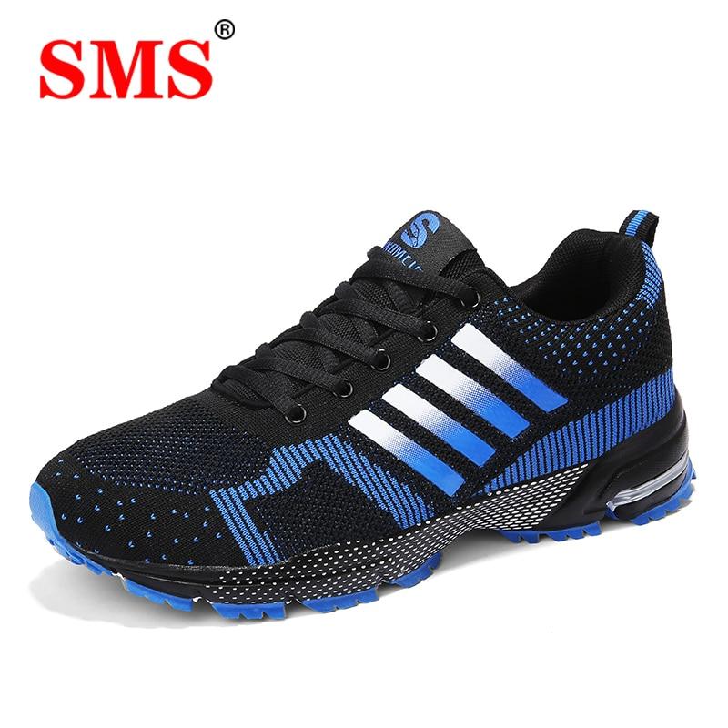 Кроссовки мужские дышащие, удобная повседневная обувь для бега и ходьбы, модель размера плюс