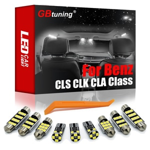 GBtuning Canbus LED Interior Light Kit For Mercedes Benz CLS CLK CLA Class W218 W219 W208 W209 C117 Vehicle Reading Indoor Lamp
