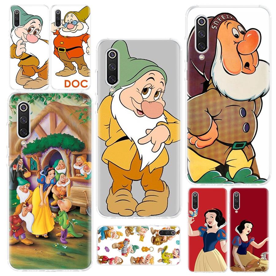 Snow White Seven Dwarfs Phone Case For Redmi 4 4A 4X 5 5A 6 6A 7 Y3 7A 8 K20 K30 S2 Y3 Note 4 5 6 7 8 5Plus Phone Cover