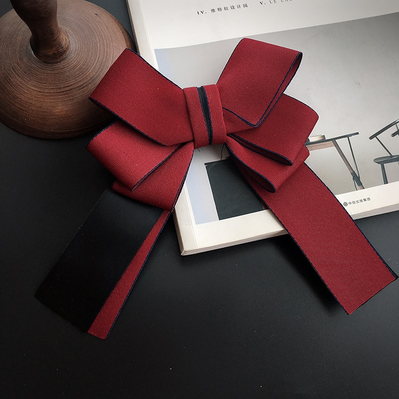 Unisex Crystal Bow Tie Adult Silk Ribbon Jewellry Women Bowtie Fashion Uniform Bow Ties Retro Wedding Party Collar Wear